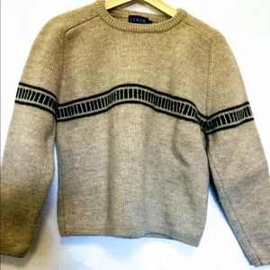 J.Crew 100% Wool Sz Lg Warm Cozy Sweater